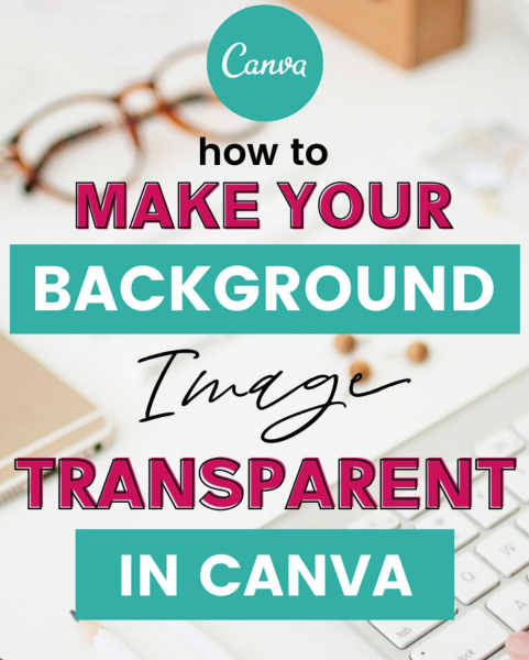 transparant in canva