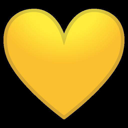 The Yellow Heart Emoji