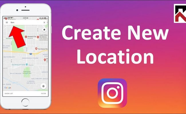 new Instagram location