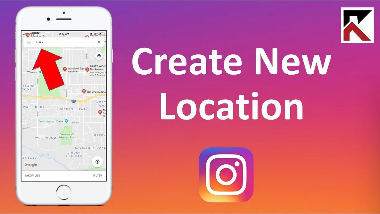 new Instagram location